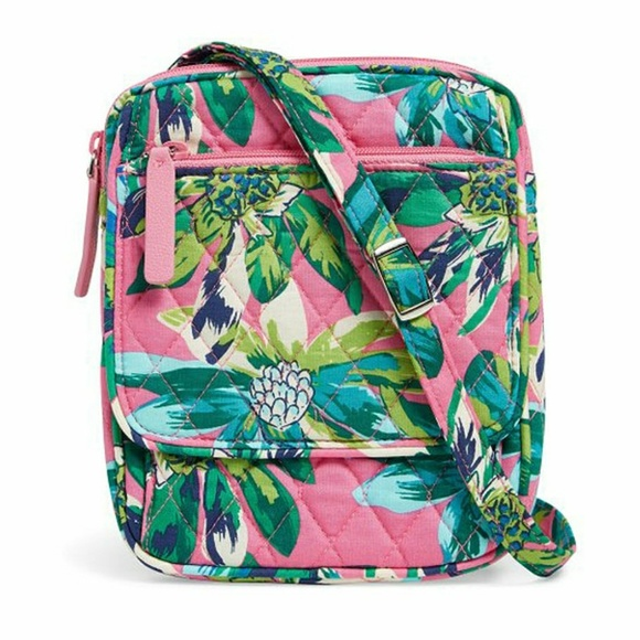 Vera Bradley Handbags - Vera Bradley Mini Hipster in Tropical Paradise